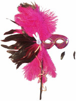 Wand Feather Mask
