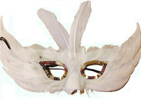 White Feather Mask