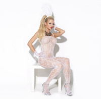 Lace Bridal Bodystocking