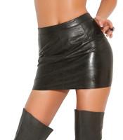 Leather Spanking Skirt