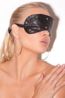 Leather Studded Blindfold