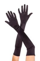 Opera Length Long Satin Gloves