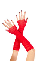 Mesh Fingerless Gloves