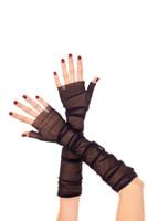 Mesh Fingerless Gloves