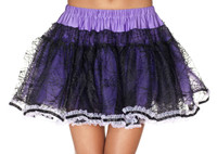 Purple Spiderweb Petticoat