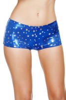 Silver Stars Boy Shorts