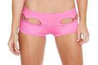 Side Cutout Booty Shorts