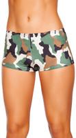 Camouflage Boy Shorts
