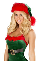 Green and Red Christmas Hat