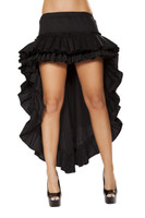 Tiered High Low Ruffle Skirt