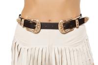 Double Buckle Belt