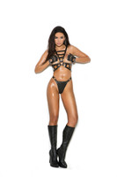 Leather Strappy Harness and G-String Set