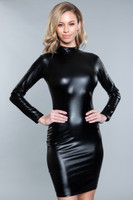 Wet Look Dominatrix Dress