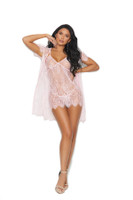 Eyelash Babydoll and Robe Set