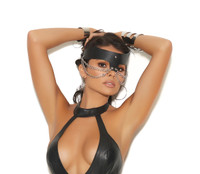 Leather and Chain Mask