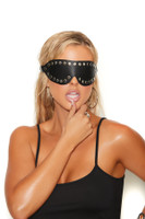 Leather Nail Heads Blindfold
