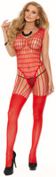 Crochet Net Strappy Bodystocking