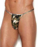 Men's Camouflage G-String Pouch