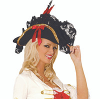 Pirate Bicorne Hat