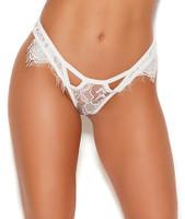 Eyelash Lace Cutout Cheeky Panty