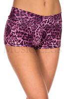 Leopard Print Booty Shorts