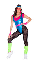 80's Glam Workout Babe