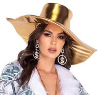 Gold Pimp Hat