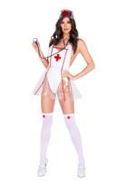 Vinyl Naughty Nurse Costume