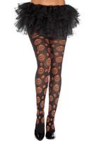 Pumpkin Pattern Pantyhose