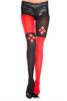Harley Quinn Design Pantyhose