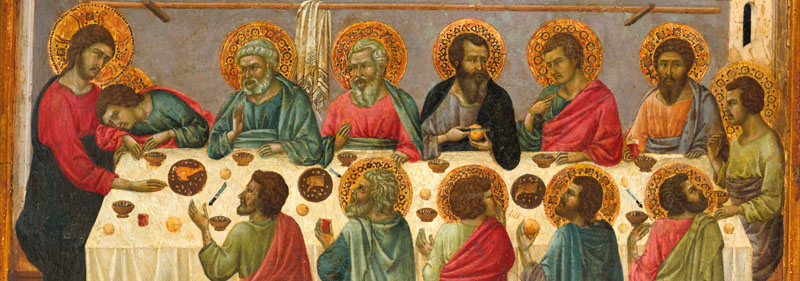 LAST SUPPER BYZANTINE ICON
