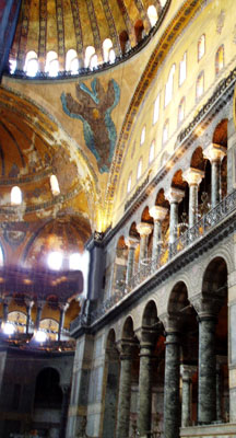 BYZANTINE HAGIA SOPHIA CHURCH