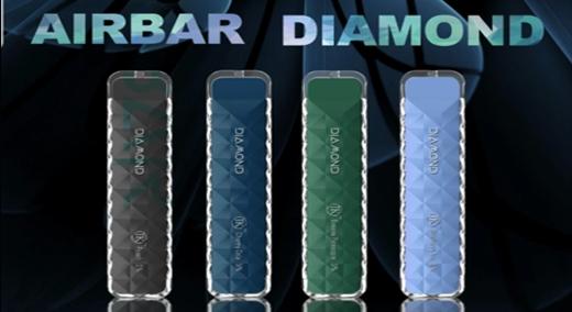 AIR BAR DIAMOND | DISPOSABLE POD DEVICE | POWERED BY SUORIN