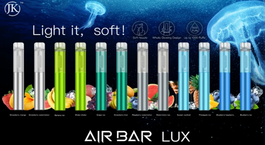 AIR BAR LUX | DISPOSABLE POD DEVICE | POWERED BY SUORIN