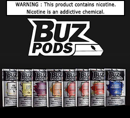 BUZ PODS | SINGLE PACK OF 4 PODS