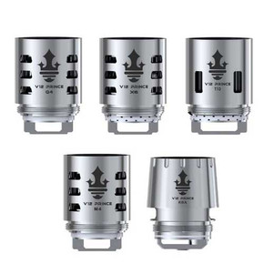 SMOK   TFV12 PRINCE TANK REPLACEMENT COILS   PACK OF 3