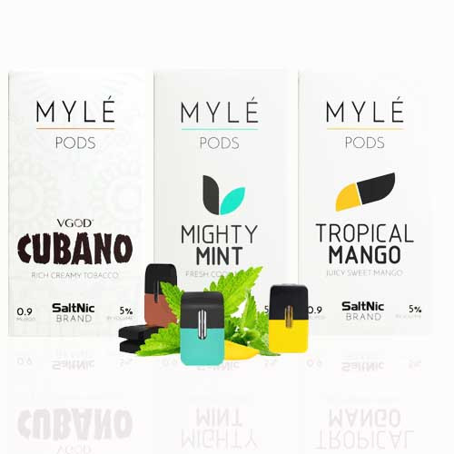 MYLE SALTNIC REPLACEMENT PODS | 4PACK - US Wholesale Vapor