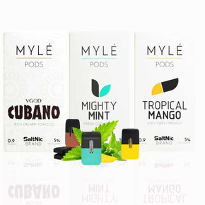 MYLE SALTNIC REPLACEMENT PODS | 4PACK