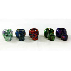 TFV12 PRINCE | RESIN REPLACEMENT TUBE & MATCHING DRIP TIP | ASSORTED COLORS [1AV-TF012A]