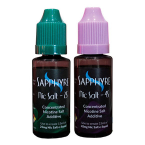 SAPPHYRE |SALT NICOTINE CONCENTRATED ADDITIVE | PRE-MEASURED 15ML
