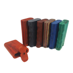 WOOD DUGOUT | FINE QUALITY | ASSORTED COLORS | 12PACK
