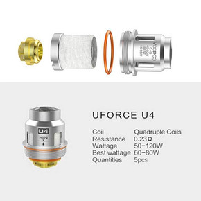 VOOPOO UFORCE U SERIES REPLACEMENT COILS | 5PACK