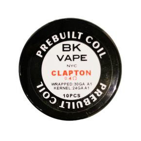 BK VAPE | PRE-BUILT COILS | 10 PACK