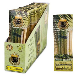 KING PALM | SLIM SIZE | 3 PACK PRE-ROLL | 24CT DISPLAY