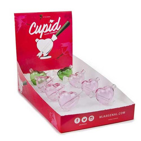 MJ ARSENAL CUPID GLASS BLUNT BUBBLER | PACK OF 8