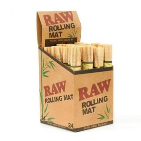 RAW | BAMBOO ROLLING MAT | DISPLAY OF 24