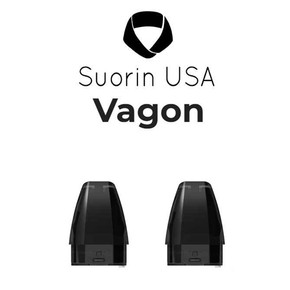 SUORIN VAGON REFILLABLE REPLACEMENT PODS | 2.5ML | 2PACK