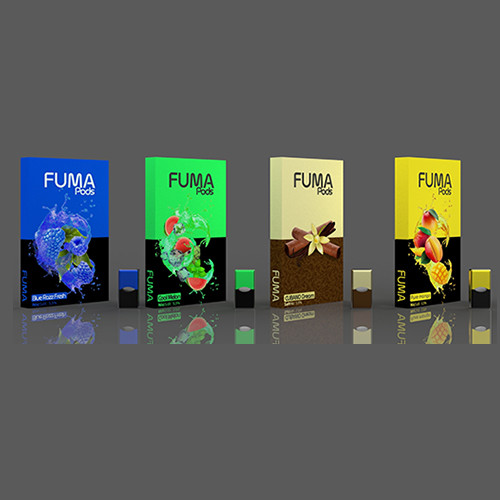 FUMA PREFILLED NICOTINE SALT PODS FOR JUUL | 1 PACK OF 4 PODS