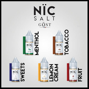 NIC SALT BY GOST VAPOR | 30ML