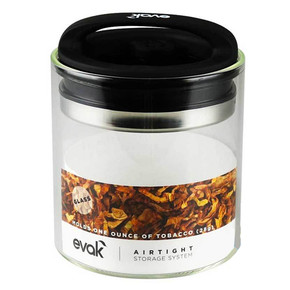 EVAK COMPACT AIR REMOVAL AIR REMOVAL STORAGE SYSTEM | 16OZ | CLEAR GLASS